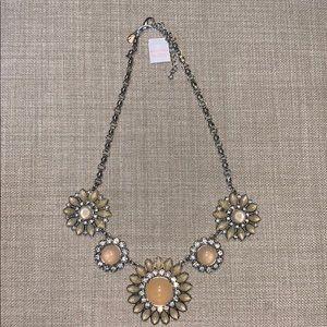 lia sophia flower necklace
